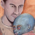 thumbnail of Methos with mutant baby