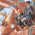 preview of Sheppard flying a Steampunk!Puddlejumper