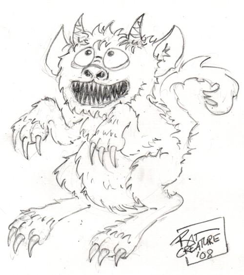 Cute Monster Doodle Drawings   Car Interior Design Easy Monster Drawings In Pencil