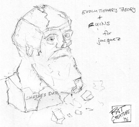 evolutionary theory + ruins for jacquez