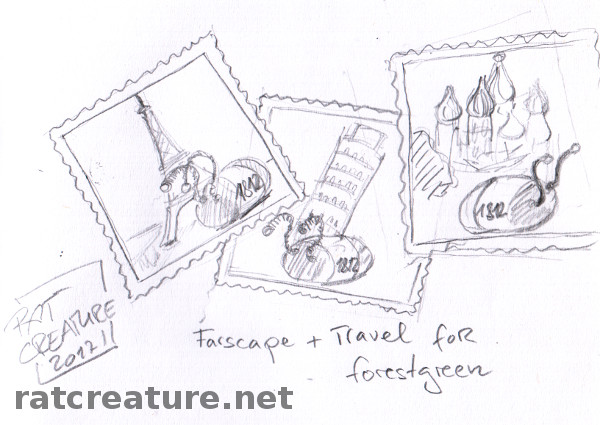 Farscape + travel for forestgreen, or snapshots from 1812's Grand European Tour...