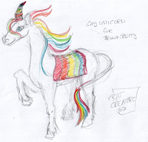 gay unicorn for brown_betty