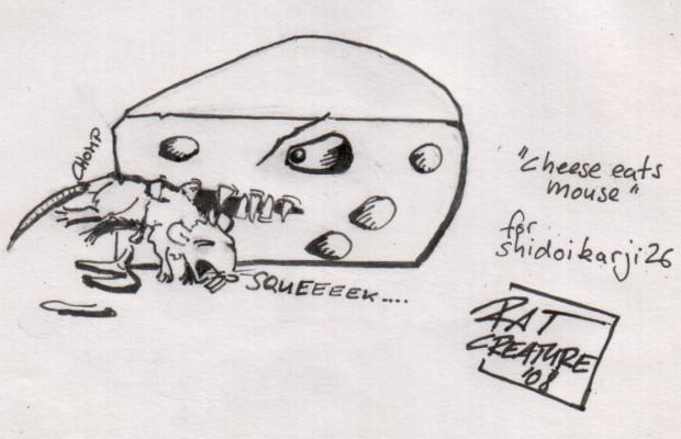cheese eats mouse for shidoikarji26