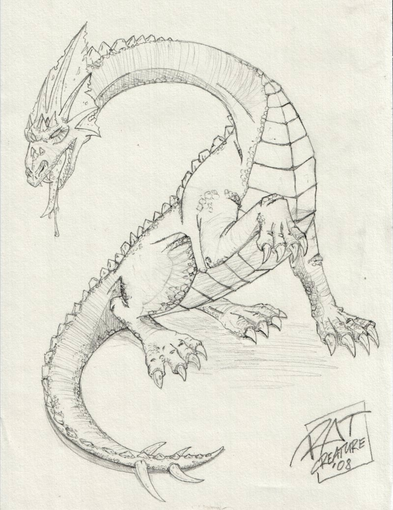 Review How to Train Your Dragon Perry Chens dragon pencil drawing jpg