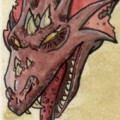 preview of a dragon drawing